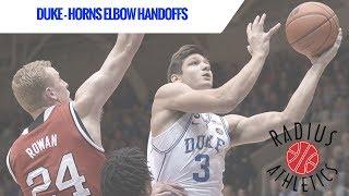 Duke Blue Devils - Horns Elbow Handoffs