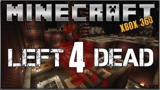 """""""MINECRAFT"""" (Xbox 360) """"LEFT 4 DEAD"""" No Mercy Survival"""
