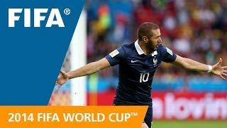 Benzema v Honduras - Goal-Line Technology EXCLUSIVE