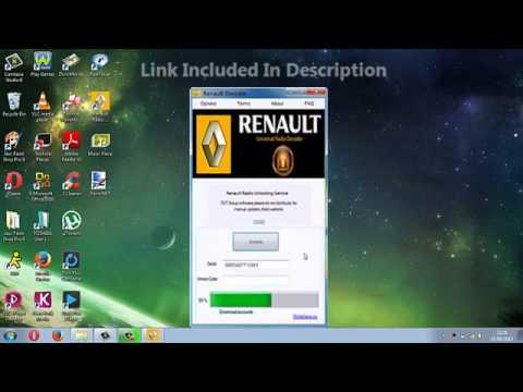 free renault megane radio code generator download