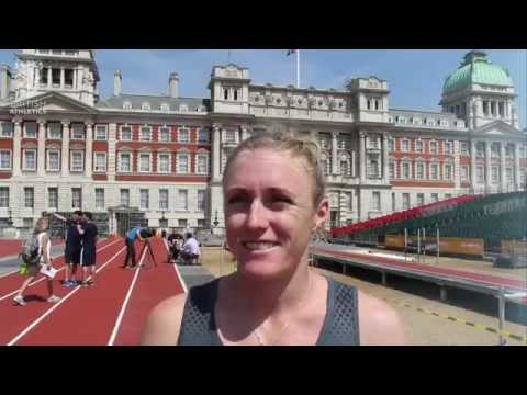 Sally Pearson excited for Sunday's #AnniversaryGames