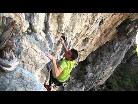 Ali Baba por Mathieu Bouyoud & escaladoes en el Aiglun, France