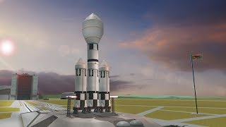 Falcon Heavy - KERBAL STYLE!