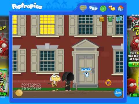 Poptropica Time Tangled Island Cheats