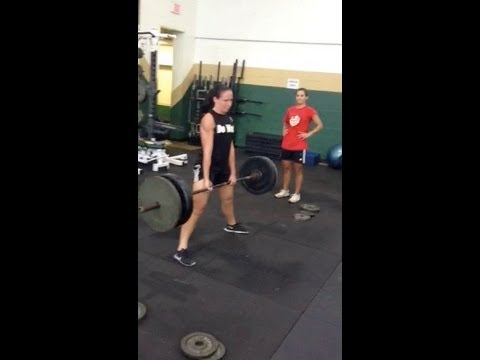 Sumo Deadlift 225x3 Women's Soccer Player