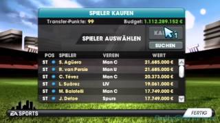 ~Fifa 13 Wii~ Manager Mode Cheats