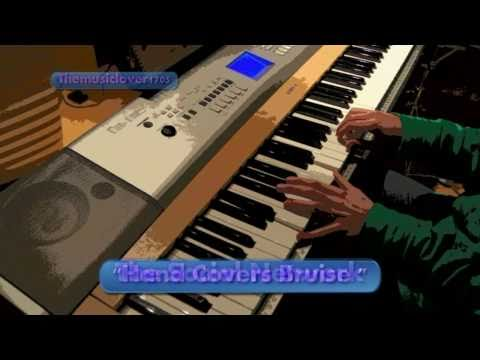 'Hand Covers Bruise' + sheet music piano cover (The Social Network)