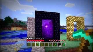 MineCraft Xbox 360 Edition How To Make A Nether Portal