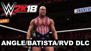 WWE 2K18 - Kurt Angle, Batista and Rob Van Dam DLC