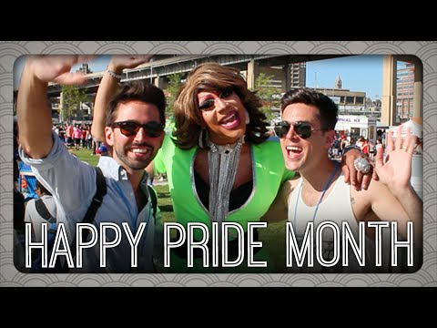 Happy LGBT Pride Month from Buffalo | Billy & Pat