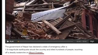 NEPAL EARTHQUAKE PROPHECY FULFILLED!! April 25th