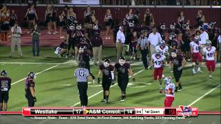 Austin Westlake vs A&M Consolidated - 2012 - Full Game