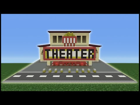 how to make a movie theater in minecraft xbox 360