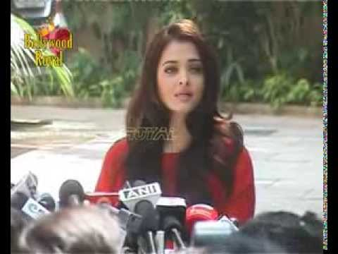 Aishwarya Rai Bachchan celebrates her 40th birthday with media Part-1
