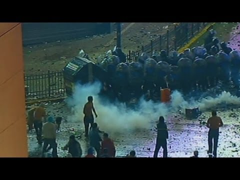 World Cup 2014: Violent clashes in Argentina after losing to Germany