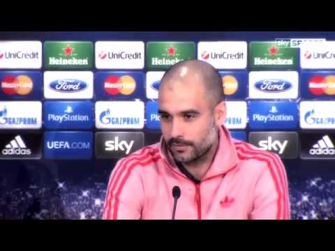 "Pep Guardiola: ""Always I play Champions League to win"""