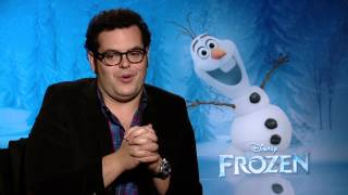 "Frozen: Josh Gad, Voice Of ""Olaf"" Official Movie Interview"