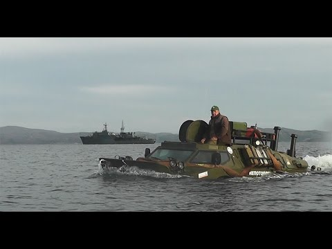 На БРДМ-2 вокруг Среднего и Рыбачьего (1 часть из 3)
