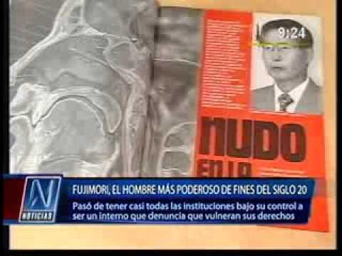 El Cáncer de lengua esta llevando a la muerte a Alberto Fujimori