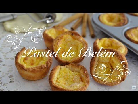 Pasteles de Belém - Pasteles de Nata Portugueses - Recetas de Cocina por Chef de mi Casa.com