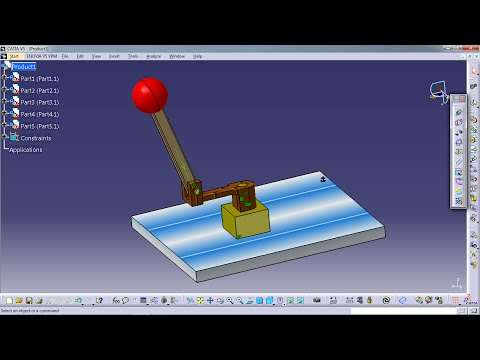 Lắp ráp trong Catia(Assembly design)