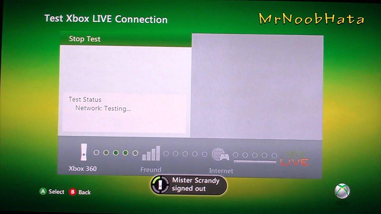 xbox live connecting