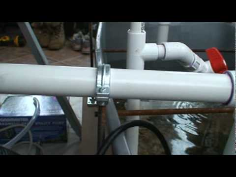 Aquaponics 05 - Bell Siphon Troubleshooting [part 1 of 2]