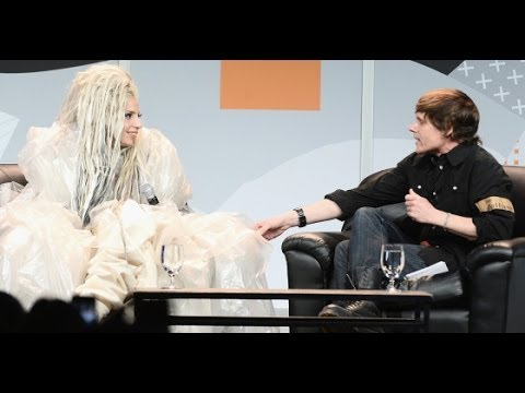 Lady Gaga Keynote Address With John Norris After SXSW Music Festival Live Stage Performance