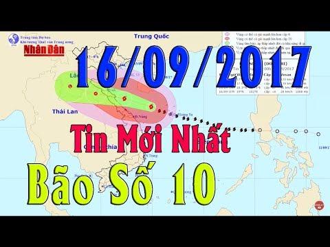 Tin Thời Sự Hôm nay (11h30 - 16/9/2017): Bão Số 10 Làm 4 Người Chết,8 Người Bị Thương, Thiệt Hại Lớn