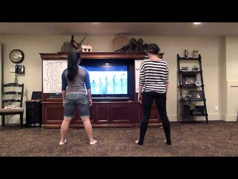 Allie & Cam Wedding Dance steps {Love on top}