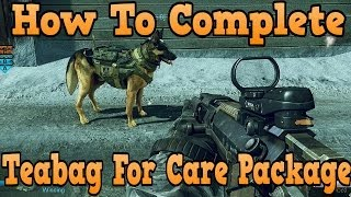 """Call Of Duty Ghosts"" How To Teabag For A Care Package"