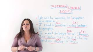 Ordinary vs Proper Nouns, Nouns Lesson
