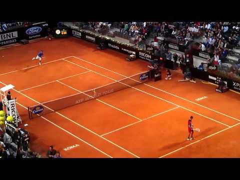 Federer vs. Djokovic 2012 Rome 2