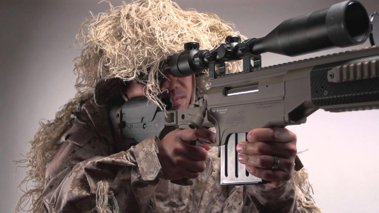 Ashbury Asw338 Lm Sniper Rifle