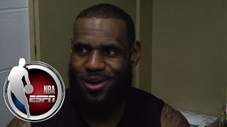 LeBron James reflects on 13-game win streak | ESPN