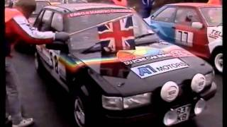 1989 MG Maestro Challenge & 6R4 Super Challenge. Tour of Cornwall.