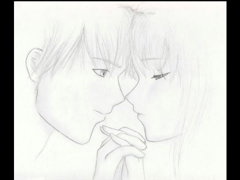 Dibujando una pareja (Dibujo Anime)
