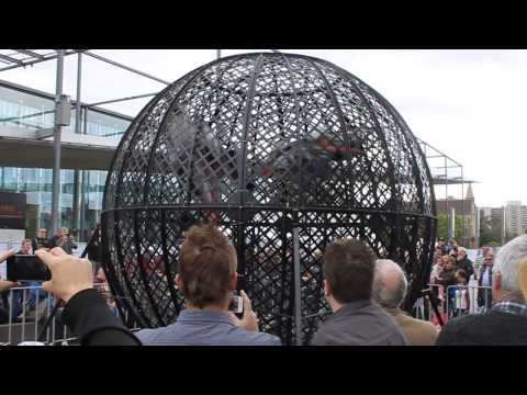Globe of Death - Motorclassica 2013