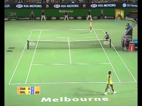 Maria Sharapova v Serena Williams 2007