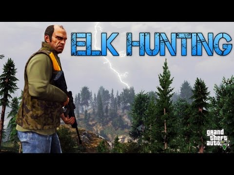 Grand Theft Auto V | ELK HUNTING LIKE A BOSS | PS3 HD Gameplay