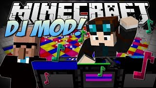 Minecraft | DJ PARTY MOD! (Dr Trayaurus' Ultimate Party!) | Mod Showcase