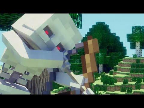 Skeleton Revenge (Minecraft Animation Short)