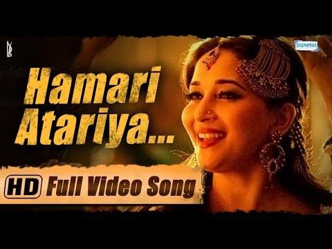 """Hamari Atariya"" Full Video Song - Feat. Madhuri Dixit - Huma Qureshi - Dedh Ishqiya Exclusive - HD"