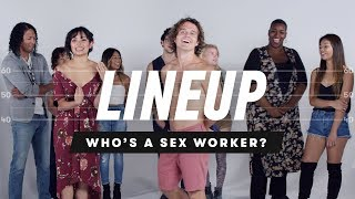 People Guess Who's a Sex Worker from a Group of Strangers - Lineup