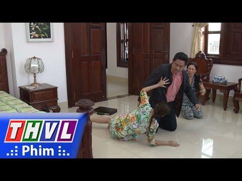 THVL | Cuộc chiến nhân tâm - Tập 46[1]: Sáu Tiến đấm đá bà Thu khi biết Long không phải con ông
