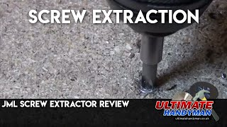 JML screw extractor review