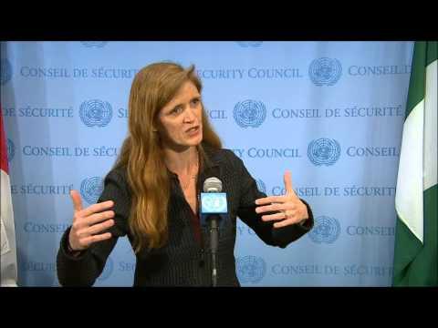 At UN, ICP Asks PR Samantha Power of CAR, and Burundi Cable of CNDD Arming Youth: 3 Minute Answer