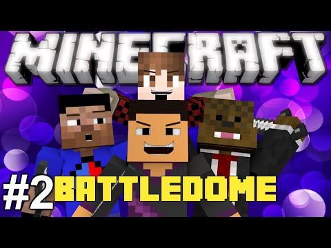 Minecraft: EPIC BATTLE DOME PART 2! w/  TheBajanCanadian, JeromeASF, and Vikkstar123HD