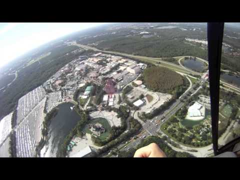 Helicopter Tour of Orlando Theme Parks