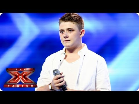 Nicholas McDonald sings A Thousand Years - Arena Auditions Week 3 - The X Factor 2013